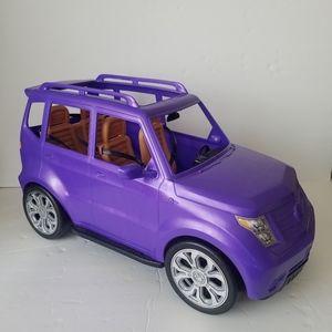 Barbie  SUV Cadillac purple 2016
